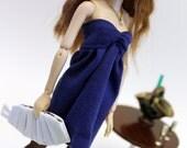 Tube Top Dress (Navy) for Momoko Dolls
