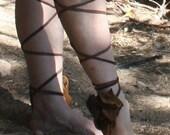 showdiva designs Black 10 in 1 Leg Wraps Wear Alone Or Over Boots