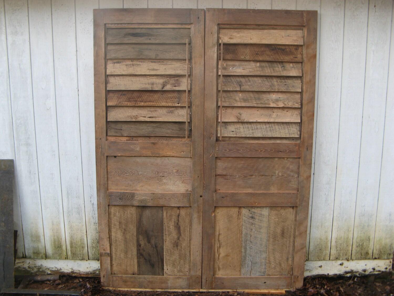 Shutter Doors Barn Doors Reclaimed Woods Handmade