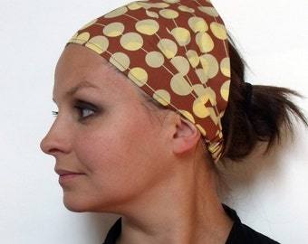 Headband - Amy Butler Martini in Brown fabric