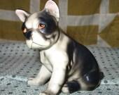 Vintage Boston Terrier Dog Figurine Japan