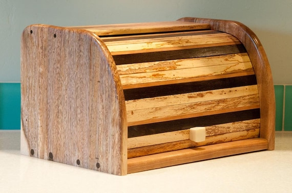 Hand-Made Wood Bread Box