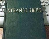 Strange Fruit Novel Lillian Smith 1944 22nd edition
