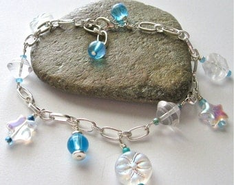 Down By The Sea Bead and Link Bracelet