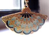 Art Nouveau Inspired Earrings