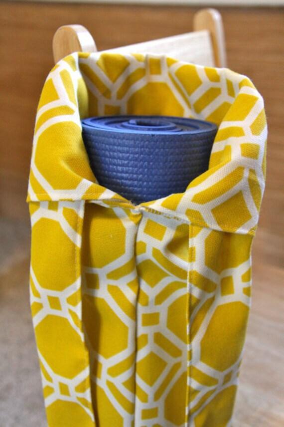 Yoga Mat Bag Yellow