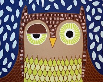Hoot Owl - Giclee Print