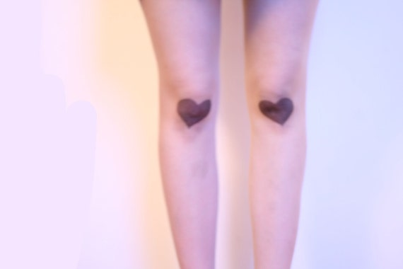 Heart Shaped Bruises Tights