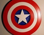 Super Hero Captain America Wood Carving