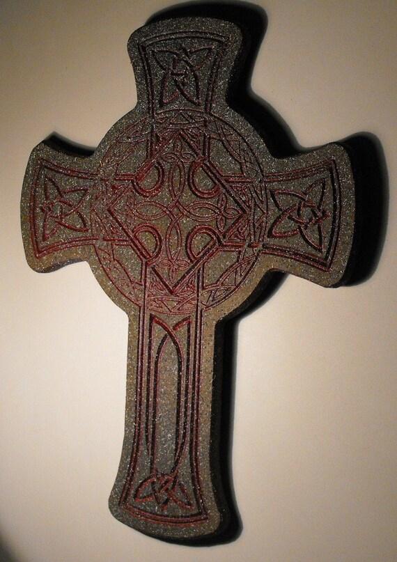 Cross Celtic Red,