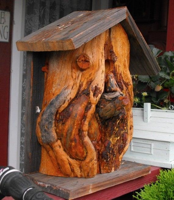 Bird House Rustic And Shabby