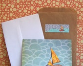 Sailboat Greeting Card - Individual