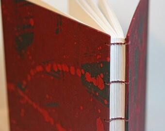 coptic book red