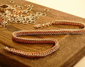 Chainmail Half Persian Chain Necklace