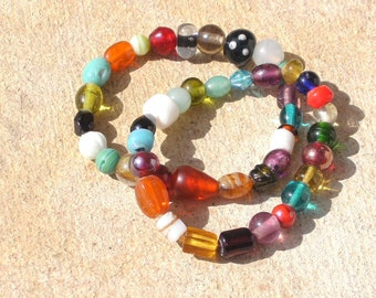 Set nO. 2 Glass Bead Bracelets Set of 2