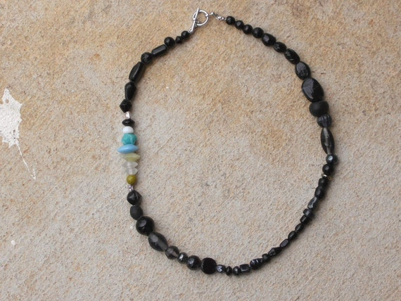 Color in the Black necklace