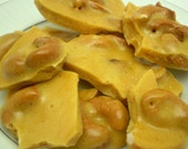 Cashew Brittle Candy - 4 Snack Size Individual 1.5 oz bags
