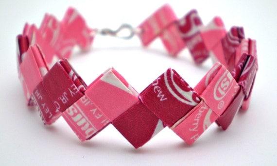 Candy Wrapper Jewelry Candy Wrapper Bracelet
