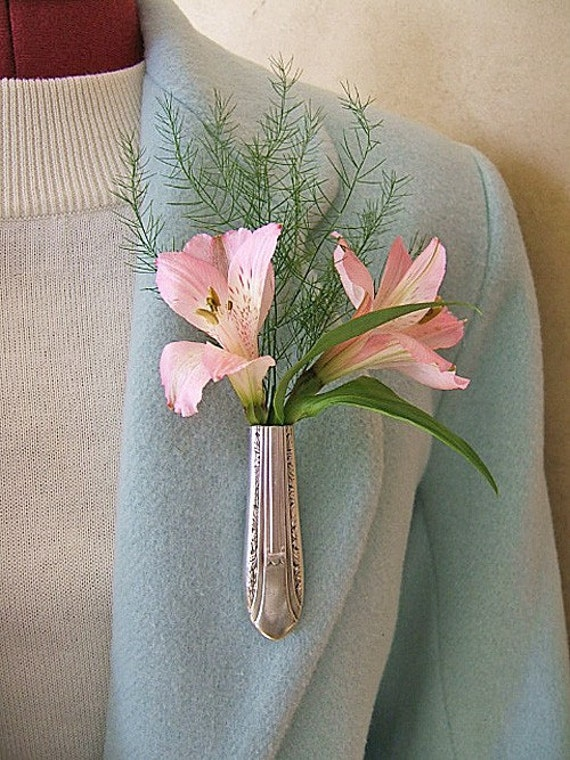 Lapel Vase - Tussie Mussie - From antique REGENT knife