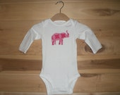 Elephant Onesie - Your choice of fabric