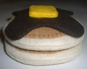 Pancakes with Syrup - felt play food breakfast
