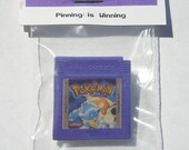 Pokemon Blue Gameboy Cartridge Pin