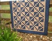 Crossroads Quilt  --  Handmade quilt, Lap quilt, Wall quilt