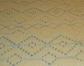 Yellow Swedish Weaving Blanket