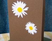 Double Daisy Card