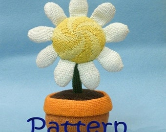 Pattern for crocheted amigurumi - Daisy amigurumi  tutorial