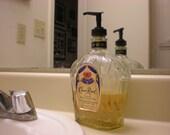 Crown Royal Soap Dispenser.