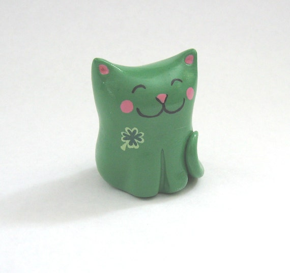 RESERVED Lucky Cat Whimsicat