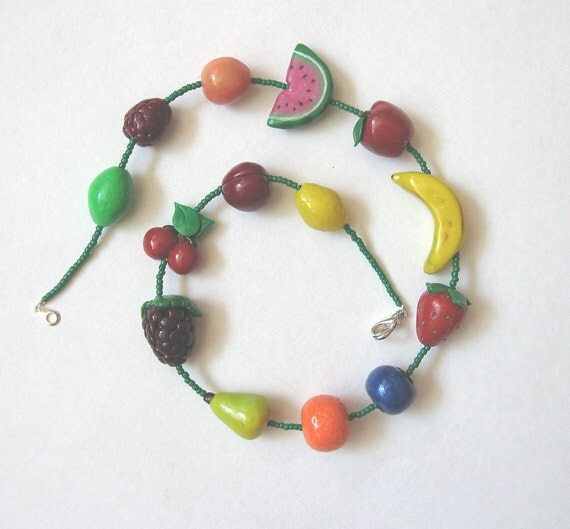 Fun Fruity Necklace