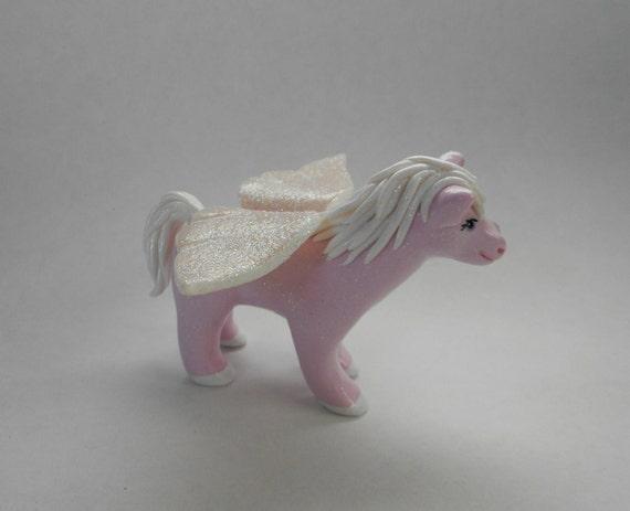 Pink Sparkle Pegasus