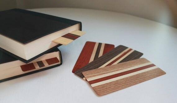 Wood Bookmarks