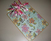 Flower Power Covered Clipboard
