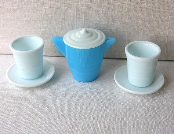 Child's Milk Glass Dishes Creamer