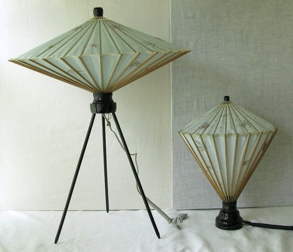 RESERVED FOR JESSICA balance due on Vintage  Lamp Japanese
