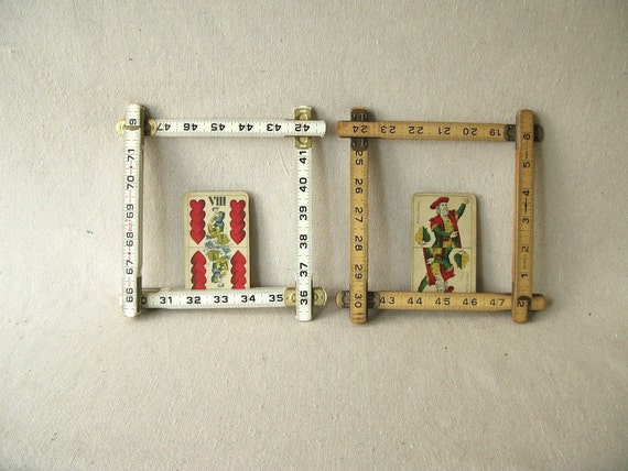 Vintage Fold Up Rulers Two