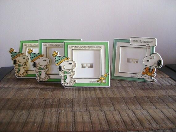 Vintage Set of Snoopy Frames