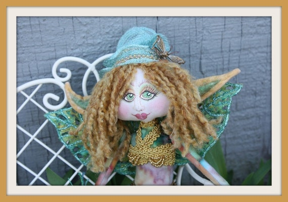Green Butterfly Pixie