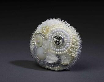 CUSTOM (bead embroidered doll)