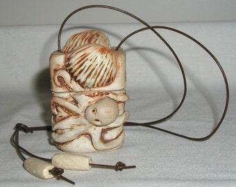 Inro Handmade OOAK Ceramic