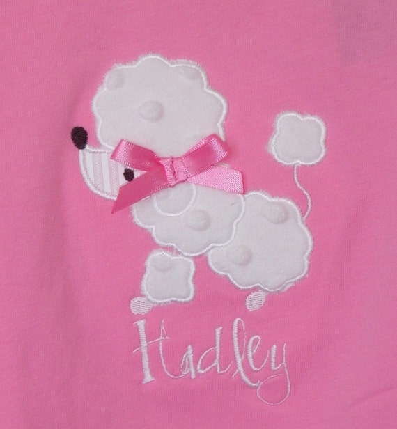 Poodle applique pattern patterns gallery for Poodle skirt applique template