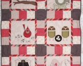 Charley Harper Machine Applique Quilt Pattern