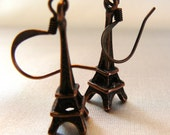 RESERVED FOR HOTJAVVA Eiffel Tower Earrings