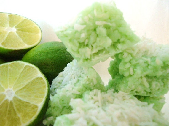 PUT the LIME in the COCONUT Fudge. Approx 3/4 Lb, It is to die for yummy, reduced sugar, no butter/oil. Made with Real lime juice.