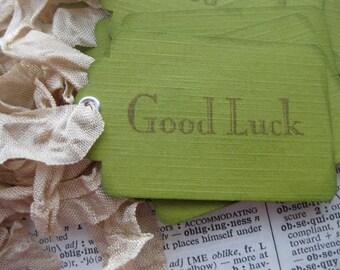 Good Luck Tags