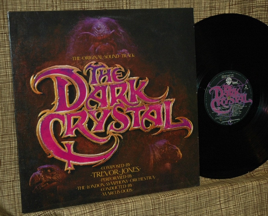 The Dark Crystal Soundtrack Album And Poster Rare Soundtrack