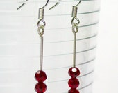 Acupuncture Needle Earrings / Jewelry
